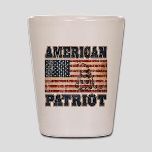 American Patriot Shot Glass