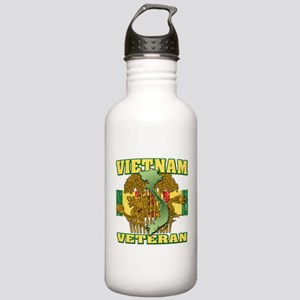 Vietnam Veteran Stainless Water Bottle 1.0L