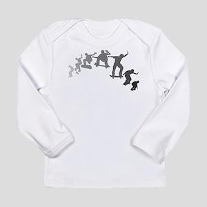 Skateboarding Long Sleeve Infant T-Shirt