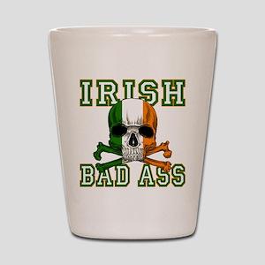 Irish Bad Ass Shot Glass