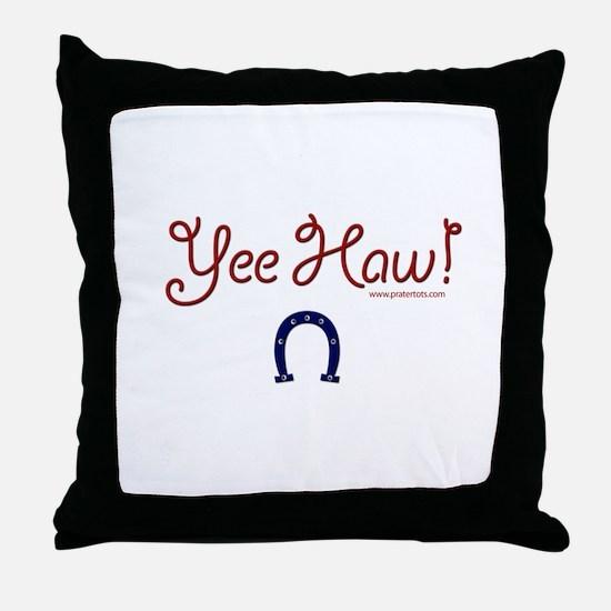 Yee Haw! Throw Pillow