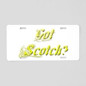 Got Scotch? Aluminum License Plate