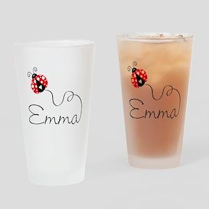 Ladybug Emma Pint Glass