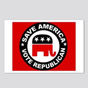 SAVE AMERICA Postcards (Package of 8)