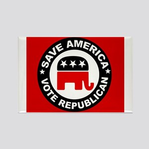 SAVE AMERICA Rectangle Magnet