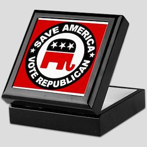 SAVE AMERICA Keepsake Box