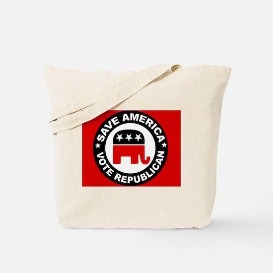 SAVE AMERICA Tote Bag