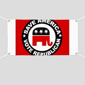 SAVE AMERICA Banner