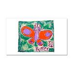 butterfly Car Magnet 12 x 20