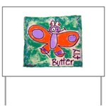 butterfly Yard Sign