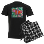 butterfly Men's Dark Pajamas