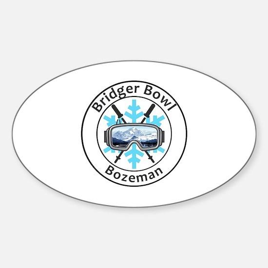 Unique Bozeman Sticker (Oval)