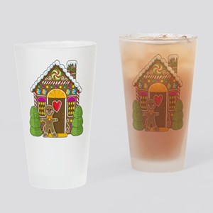 Gingerbread House Pint Glass