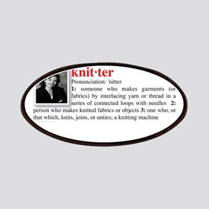 Definition of a Knitter Patches