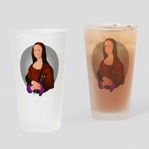 Mona Knits Pint Glass