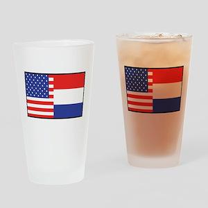 USA/Holland Pint Glass