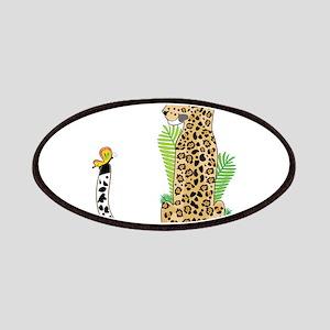 Animal Alphabet Jaguar Patches