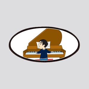 Piano Player and Dog Patches