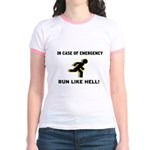 Incase of Emergency Jr. Ringer T-Shirt