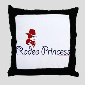 Rodeo Princess Throw Pillow