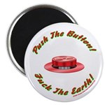 """Fuck The Earth Day 2.25"""" Magnet (10 pack)"""