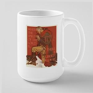 Washington- Liberty and the S Large Mug