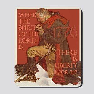 Washington- Liberty and the S Mousepad