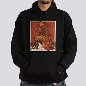 Washington- Liberty and the S Hoodie (dark)