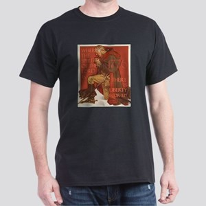 Washington- Liberty and the S Dark T-Shirt