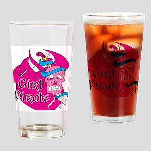 Sword Girl Pirate Pint Glass