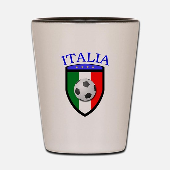 Italia Soccer (2) Shot Glass