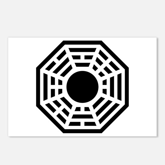 Dharma Octagon Symbol Postcards (Package of 8)