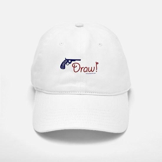 Draw! Baseball Baseball Cap