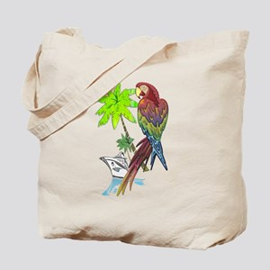 Parrot Tropical Cruise Tote Bag