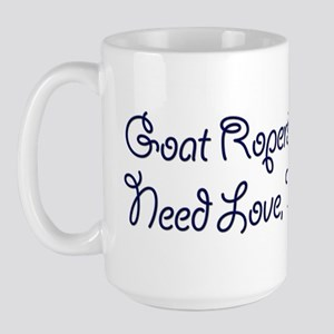 Goat Ropers Large Mug