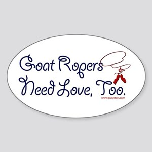 Goat Ropers Sticker (Oval)