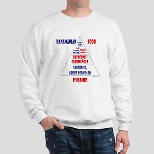 Panamanian Food Pyramid Sweatshirt