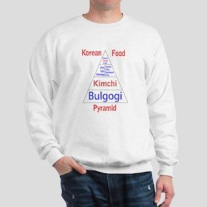 Korean Food Pyramid Sweatshirt
