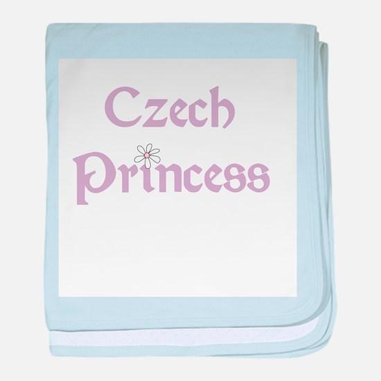 Czech Princess baby blanket