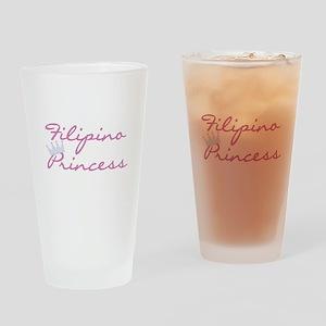 Filipino Princess Pint Glass
