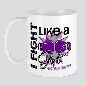 Fight Like A Girl Fibromyalgia Mug