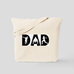 Baseball Dad Tote Bag