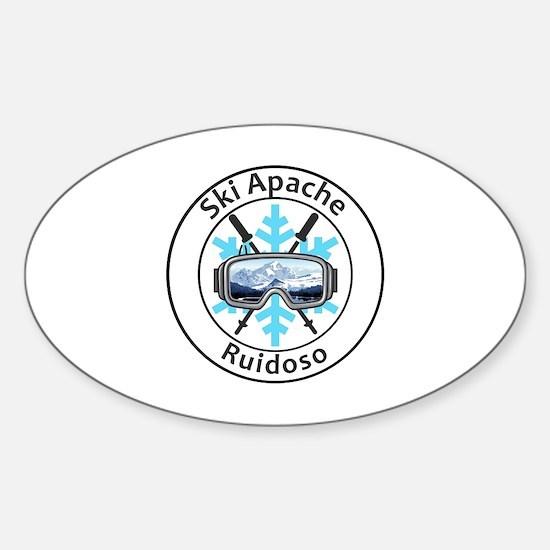 Cute Ruidoso Sticker (Oval)