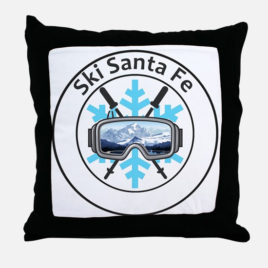 Cute Santa fe Throw Pillow