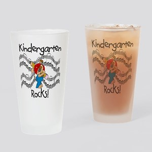 Kindergarten Rocks Pint Glass