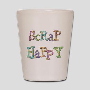 Scrap Happy Shot Glass