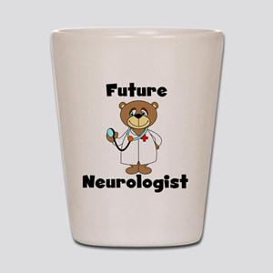 Future Neurologist Shot Glass
