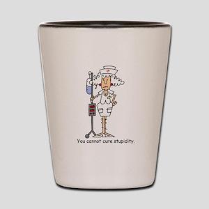 Funny Nurse Four Shot Glass