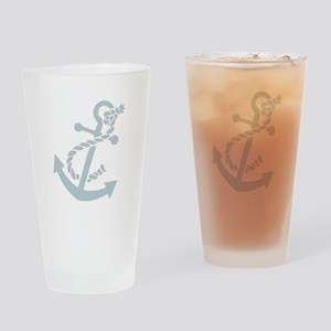 Nautical Anchor Pint Glass