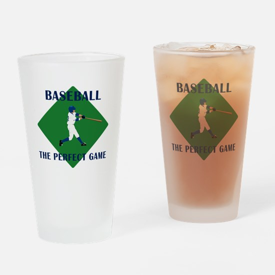 Baseball The Perfect Game Pint Glass
